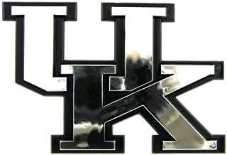 NCAA Kentucky Wildcats UK Chrome 3D for Auto Car Truck Emblem Decal Sticker College Officially Licensed Team Logo