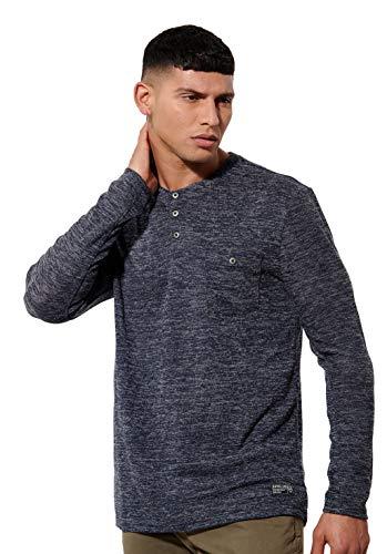 KAPORAL Tizo T-Shirt, Navmel, S Uomo