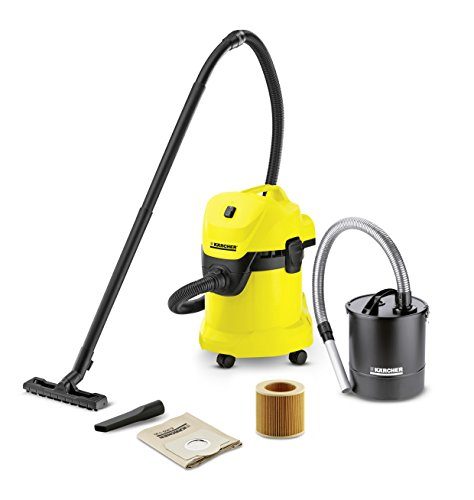 Kärcher 1.629-804.0 MV 3 WD 3 Fireplace Multi-Purpose Cleaner Kit, 1000 W, Black/Yellow