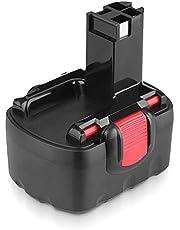 Powayup vervanging voor Bosch accu 14,4 V 3,6 Ah Ni-Mh BAT038 BAT040 BAT041 BAT140 BAT159 2607335275 2607335533 2607335534 2607335557 2607335711