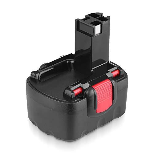 Powayup 14.4V 3600mAh Ni-MH Batería para Bosch BAT038 BAT040 BAT041 BAT159 2607335275 2607335533 2607335534 2607335711 2607335465 13614 AHS 41 PSR 14.4 GST 14.4V