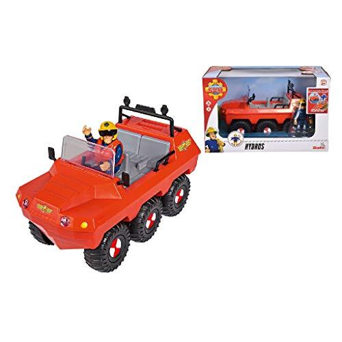 Simba Pompiere Veicolo Hydrus con Personaggio Sam, 3 Anni, 109251051038