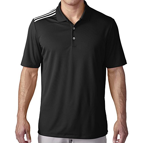 adidas Golf Men's Golf Climacool 3-Stripes Polo Shirt