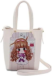 YUEJIN Bag For Girls,White - Shoulder Bags