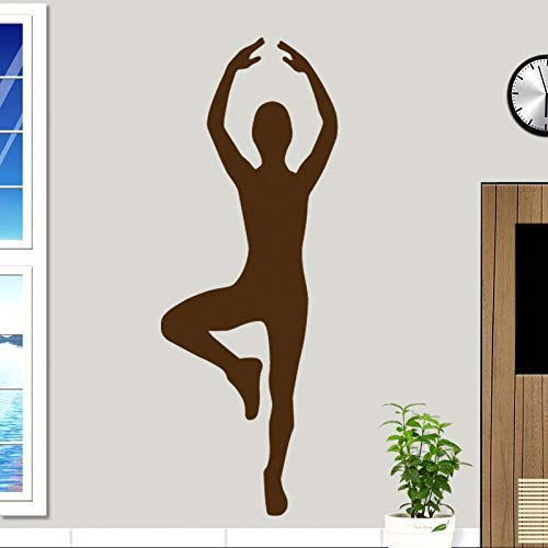 Rhythmic Gymnastics Fitness Exercise to find Decal Fitness Poster Vinyl Wall Decal Decoration St 58 * 158cm