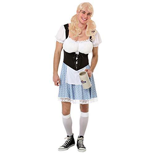 Boo Inc. Herren Kostüm Bayerisches Halloween-Kostüm, lustiges Erwachsenen-Kleid - Blau - X-Large