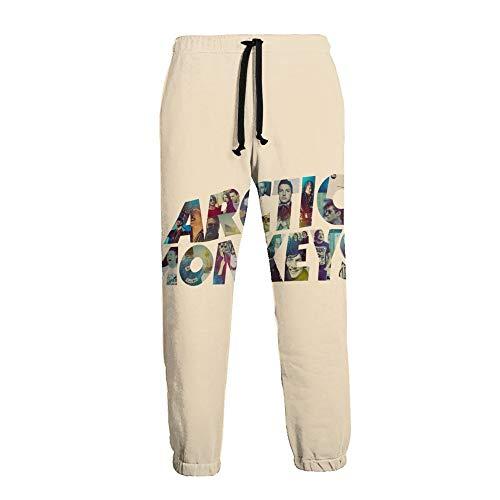 LAOLUCKY Men's Sweatpants Jogger Jersey Pants Arctic Monkeys Active Trousers