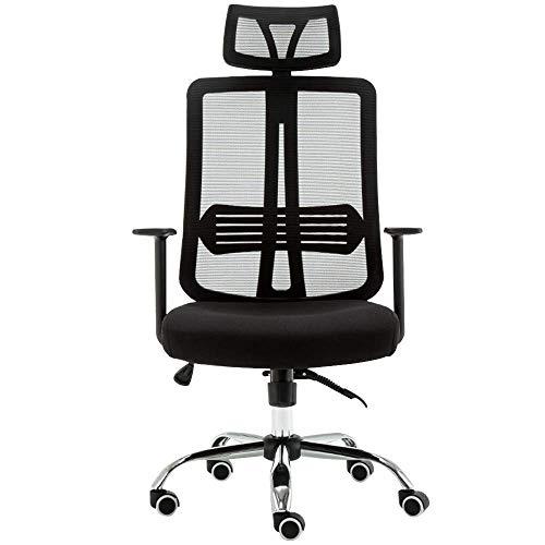 MJY Sofa Stool Brisk Computer Chair, la altura del reposabrazos es de 18 cm. 70 cm de alto, ajuste de altura de 118-128 cm, rotación de 360 ??�� / 135 �� Cualquier bloqueo hacia atrás