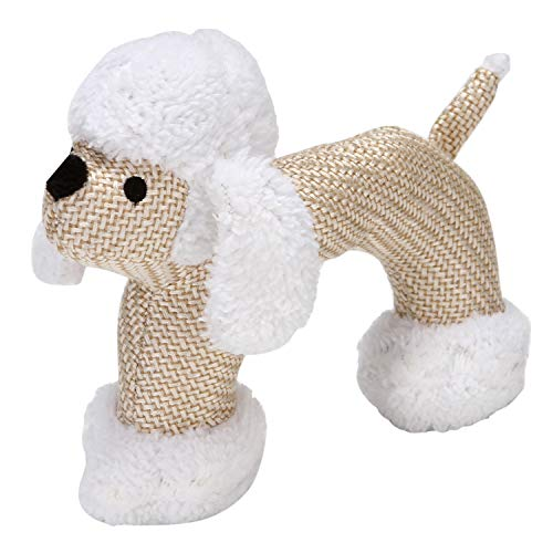 HOLECO Dog Plush Toys Squeaky Toys Interactive for Small and Medium Dogs Lion