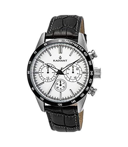 Reloj Radiant hombre Empire Steel Black-Croko RA411605 [AB9300] - Modelo: RA411605