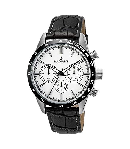 RADIANT Reloj Analógico para Hombre de Cuarzo con Correa en Piel RA411605