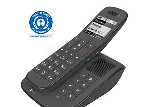 Telekom Speedphone 31 (mit Basis und Anrufbeantworter schwarz - mit DECT Basis)