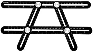 Moonbiffy Angle Template Ruler - Multi-Tool for Men Angle Finder Tool Angle Template Tool Template Layout Ruler Christmas ...