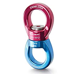 【Strong, Durable & Smooth】Made of 7075 aviation aluminum (forged aluminum magnesium alloy), the breaking strength of PACEARTH swing swivel is up to 35KN( 7868 lbs), which is greater than 30KN of others. It will not oxidize and corrode easily and has ...