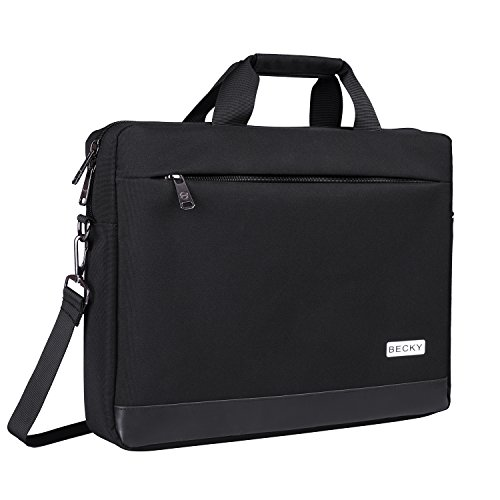 Expandable Business Briefcases Shoulder Bag with Strap SANWA 15.6-inch Laptop Computer /& Tablet Bag Water Resistant Lightweight Handbag Compatible with MacBook Dell Asus Notebook for Men//Women