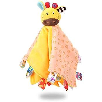YeahiBaby Doudou Baby Plush Soft Toy Elephant Blue
