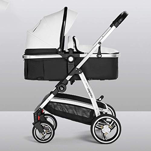 Find Bargain 3 in 1 Pram, Carriage Stroller Travel System- All Terrain Pushchair Stroller Compact Co...