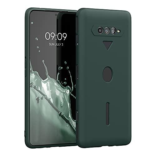 kwmobile Hülle kompatibel mit Xiaomi Black Shark 4/4 Pro - Hülle Silikon - Soft Handyhülle - Handy Hülle in Moosgrün