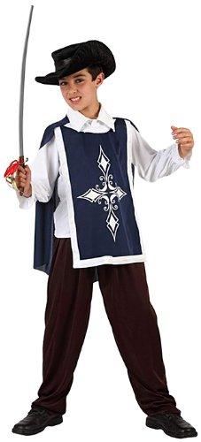 Atosa 6655 - Disfraz de mosquetero para niño