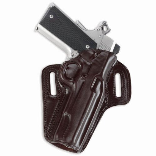 Galco Concealable Belt Holster for 1911 3-Inch Colt, Kimber, para, Springfield (Havana, Right-Hand)
