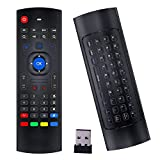 Air Mouse Remote, Rock&Rown MX3 Pro 2.4G Android Box Remote with Mini Wireless Keyboard,Compatible for Android TV/Box/IPTV/Android Projector/HTPC/Xbox/Raspberry Pi