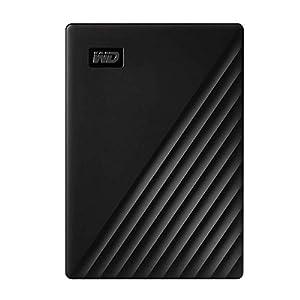 WD 1TB My Passport Portable External Hard Drive HDD, USB 3.0, USB 2.0 Compatible, Black – WDBYVG0010BBK-WESN