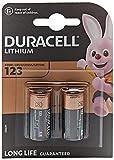 Duracell - Pilas especiales de litio 123 High Power de 6V, paquete de 2 unidades (CR123 / CR123A / CR17345) diseñadas para su uso en sensores, cerraduras sin llave, flash de cámara y linternas