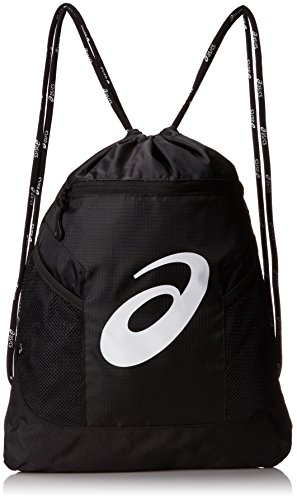 ASICS Men's Sanction Cinch Sackpack Bag, Black, One Siz