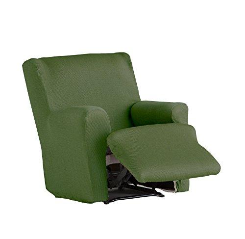 Eysa - Funda de sillón pies Juntos elástica Ulises - Color Verde