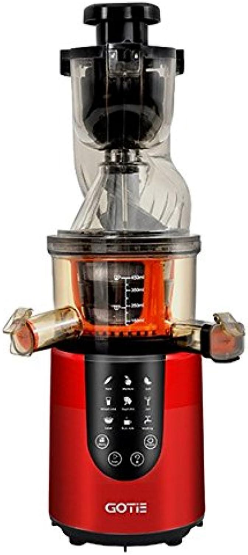 suministro directo de los fabricantes Gotie GSJ-600R Licuadora de Prensado Prensado Prensado En Frío, 200 W, Rojo  Hay más marcas de productos de alta calidad.