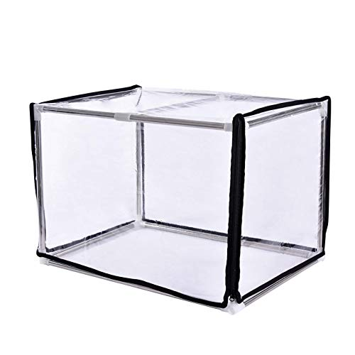 Family Balcony Small Plants Greenhouse Greenhouse Stainless Steel Frame Insulation Shed Cover Rainproof, Frostproof And Snow Shading Length 60 Width 40 Height 40
