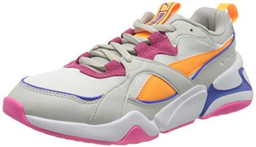 PUMA Damen Nova 2 Sneaker, Pink (Rosewater White), 40.5 EU