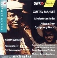 Mahler - Kindertotenlieder by Baden- South West German Radio Symphony Orchestra (2003-03-24)