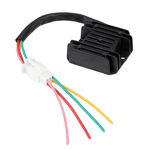 4 Wires Voltage Regulator rectifier Electrical Voltage Regulator for Motorcycle And Boat Motors, DIY...