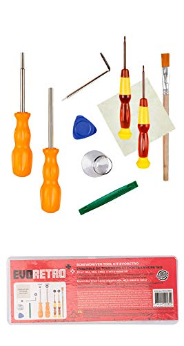 Triwing Professional Screwdriver Repair Kit for Nintendo/Wii/NES/SNES/N64/DS Lite/GBA/Gamecube by EVORETRO