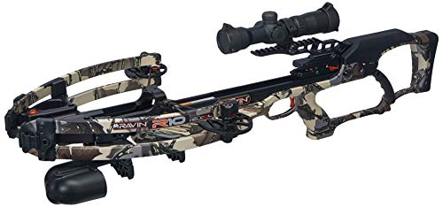 Ravin R10 Crossbow Package R010 With Illuminated 1.5-5x32mm Scope, Predator Camouflage