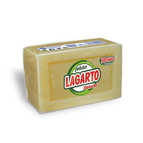 Lagarto - Jabón natural - 400 g - [paquete de 8 unidades]