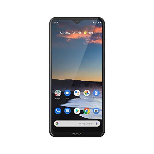"Nokia 5.3 - Smartphone (16.3 cm (6.55 ""), 64GB, 4GB RAM, Dual Sim), German Version, Charcoal"