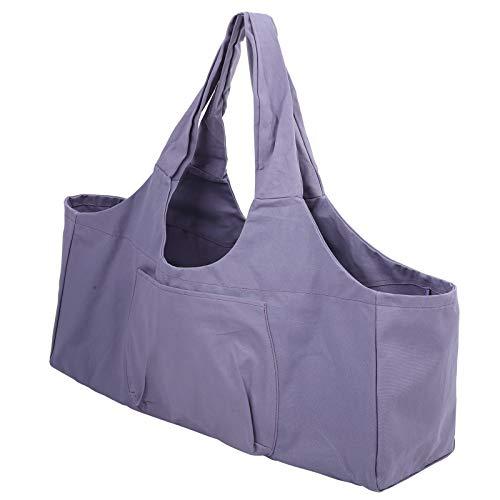 Shipenophy La Estera Durable de la Yoga del Bolso de la Yoga Lleva el Bolso, para el Gimnasio, para los Hombres de Las Mujeres(Purple)