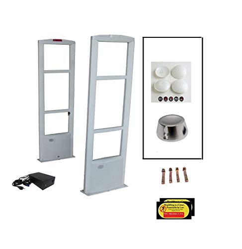 Double Door - 6 feet Wide Retail Store EAS RF 8.2 MHz Anti Theft Security Antenna System Combo