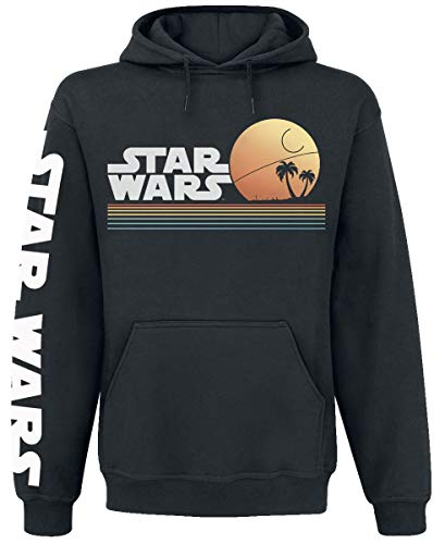 Star Wars Beachclub Männer Kapuzenpullover schwarz M 80% Baumwolle, 20% Polyester Fan-Merch, Filme