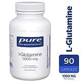 Pure Encapsulations - L-Glutamine 1,000 mg - Professional Strength Glutamine Capsules - 90 Capsules