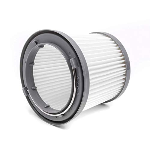 vhbw filtro a cartuccia per aspirapolvere Black & Decker Dustbuster Pivot PD1020, PD1020L, PD1420, PD1420LP, PD1820, PD1820L