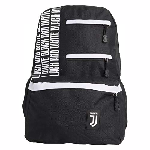 Juventus Fc, Borsa Zaino Nessun Genere, Nero, L