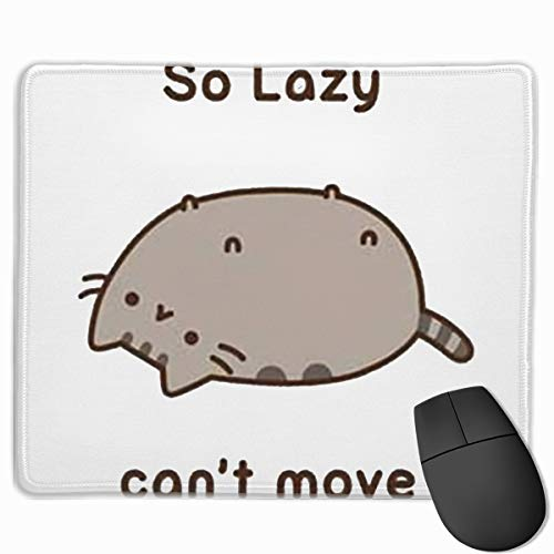 Beigehome Pusheen Mouse Pad, Game Pad, Waterproof Material, Non-Slip Personalized 2530.