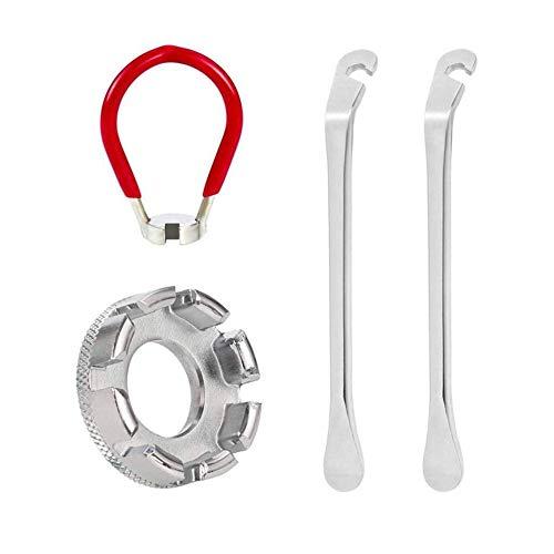 4 Pc Fahrrad-speiche-Werkzeug-Satz Fahrrad-schlüsselsatz Reparieren Spanner Werkzeug Fahrrad-Reifen-hebel Für Radwechsel