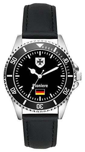 Soldat Geschenk Bundeswehr Artikel Pioniere Uhr L-1077