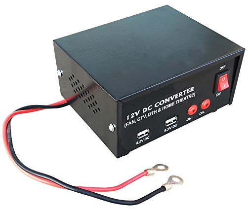 Kit4Curious 12v Solar/DC to AC Converter with Mobile Charging USB Output (12V DC Power to 220V AC) Solar Converter 200w Output