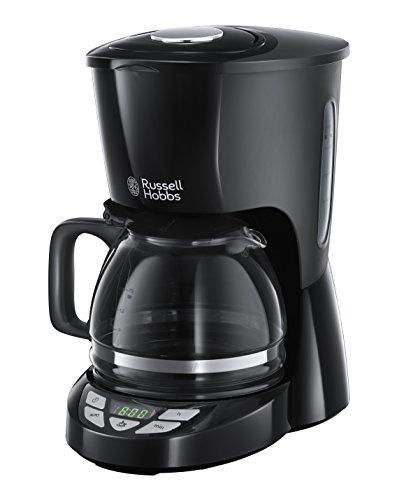 Russell Hobbs Machine à Café, Cafetière Filtre 1,25L, Grande Capacité - Noir 22620-56 Texture