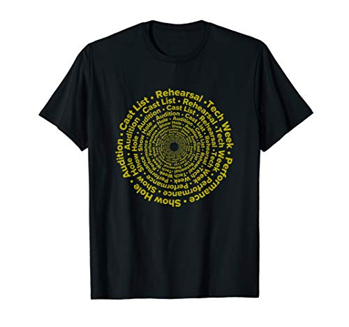 Circle of Life Stages Funny Theatre Actor Actress T-Shirt